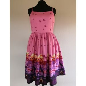 Lindy Bop Safari Print Dress